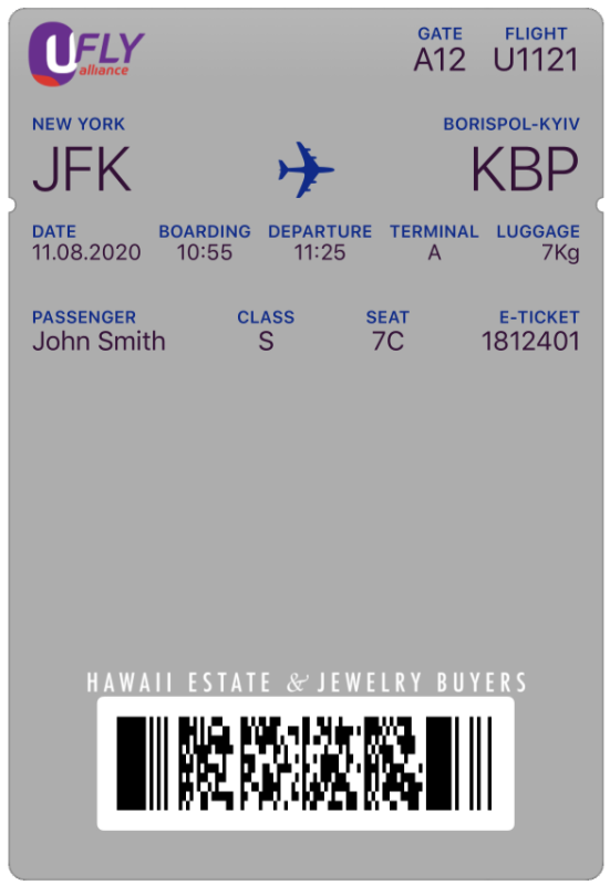 Wallet - Boarding Passes
